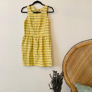 Scotch & Soda Dress: yellow striped